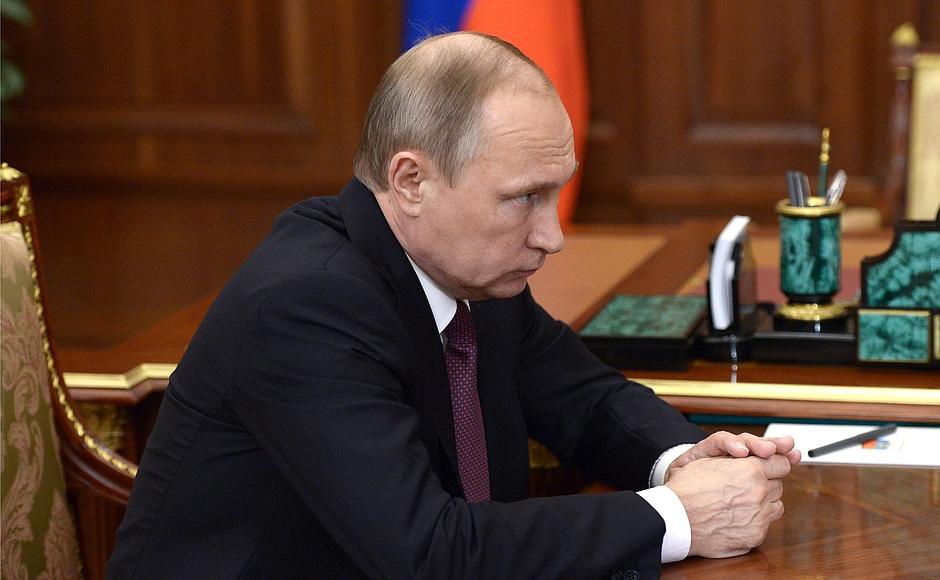 Ковалев рассказал Владимиру Путину, как закончил полугодие 2_2551