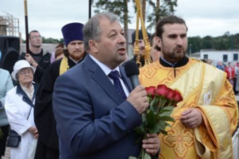На открытии памятника Феофану Затворнику в Рязанской области не дождались Патриарха и федеральных руководителей 1_4961