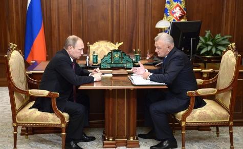 Ковалев рассказал Владимиру Путину, как закончил полугодие 1_9012