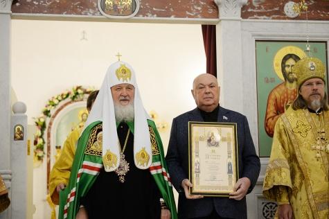 Рязанский митрополит принял участие в освящении храма на Дубровке 6_283