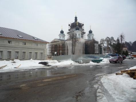 На открытии памятника Феофану Затворнику в Рязанской области не дождались Патриарха и федеральных руководителей 3_5